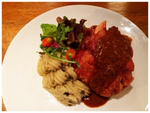 Share the love this Father's Day with our Crispy-Skin Pork Knuckle with Truffle Mashed Potatoes and Mustard Seed Gravy.